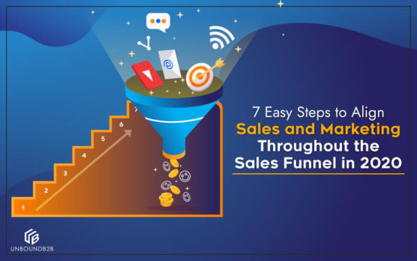 7 Easy Steps to Align Sales and Marketing Throughout the Sales Funnel in 2020