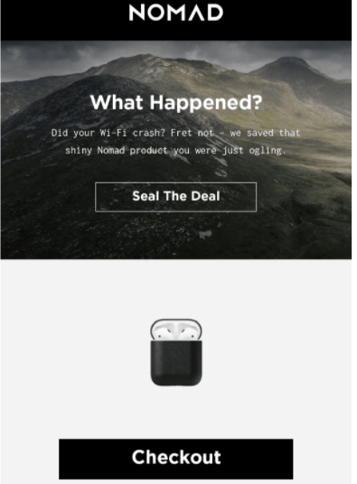 Cart email
