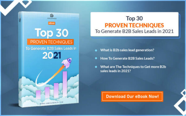 Feature img- Top 30 Proven Techniques To Generate B2B Sales Leads In 2021
